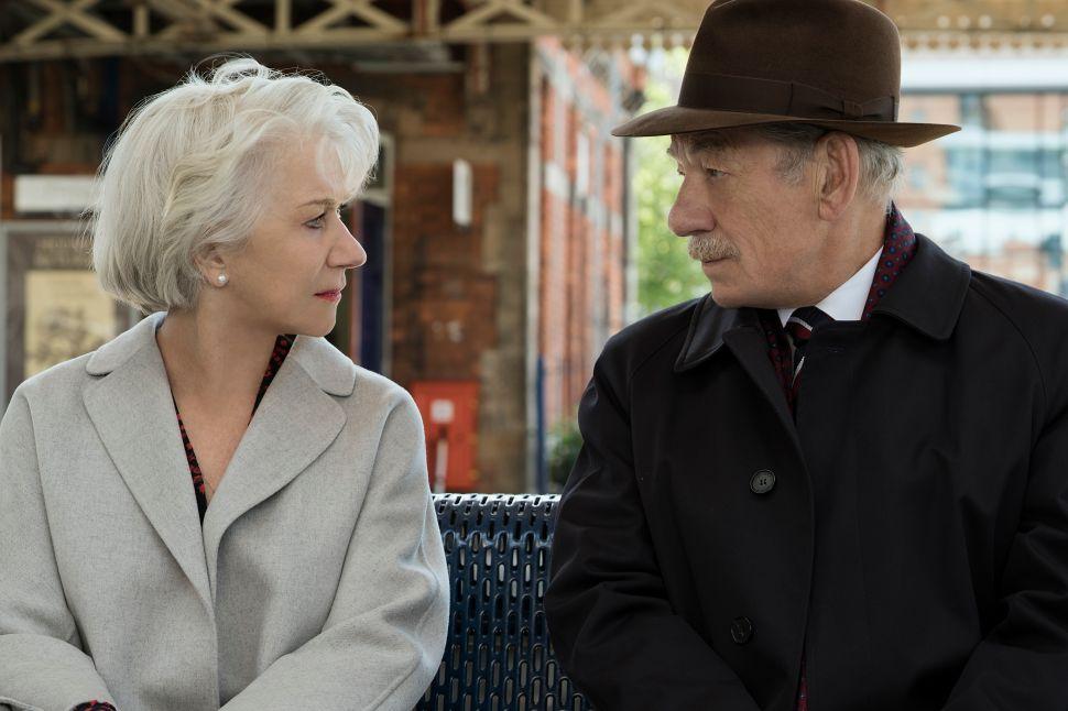 In 'The Good Liar,' Helen Mirren and Ian McKellen Redefine Rapture