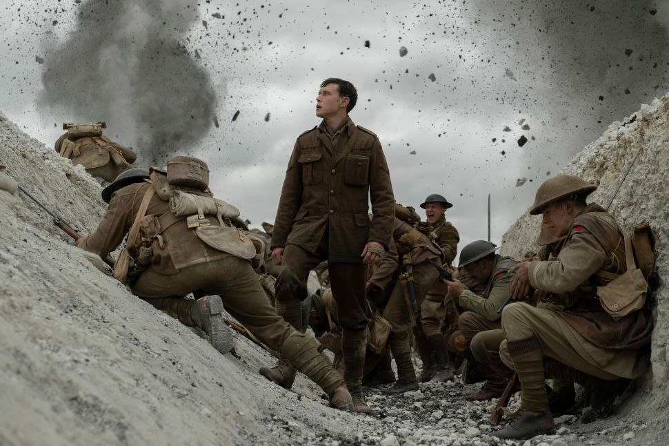'1917' Is the Best War Movie Since 'Saving Private Ryan'