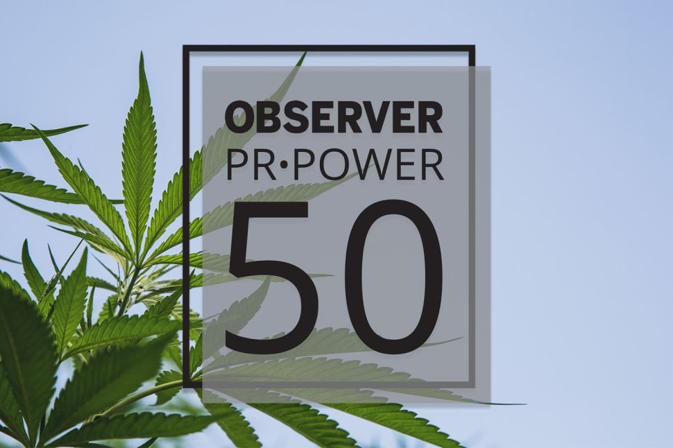 PR Power List Cannabis Honor Roll of 2019