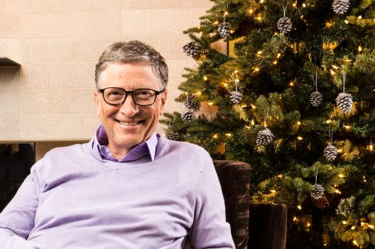 Bill Gates Sends 81-Pound Christmas Gift Box to His Secret Santa Match