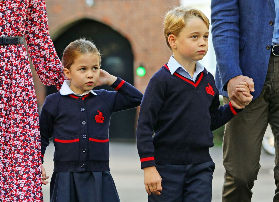 Prince George and Princess Charlotte's School Is Dealing With a Coronavirus Scare