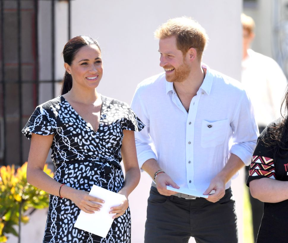 Prince Harry and Meghan Celebrated Thanksgiving With Close Family in the United States