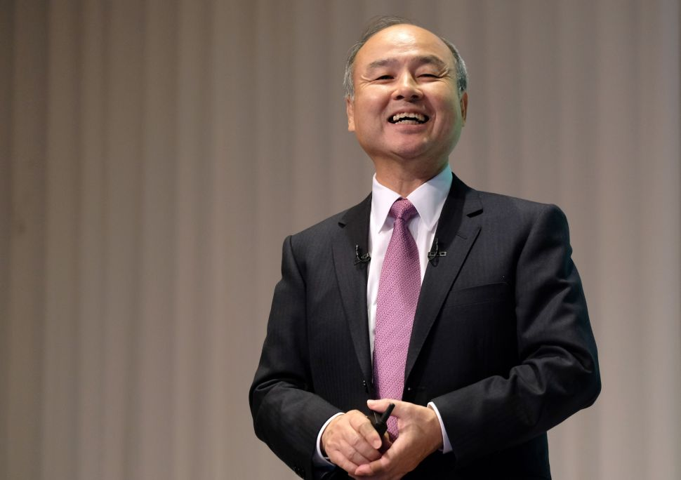SoftBank's Masayoshi Son Isn't Done Investing: 'It's Fun—I Cannot Stop'