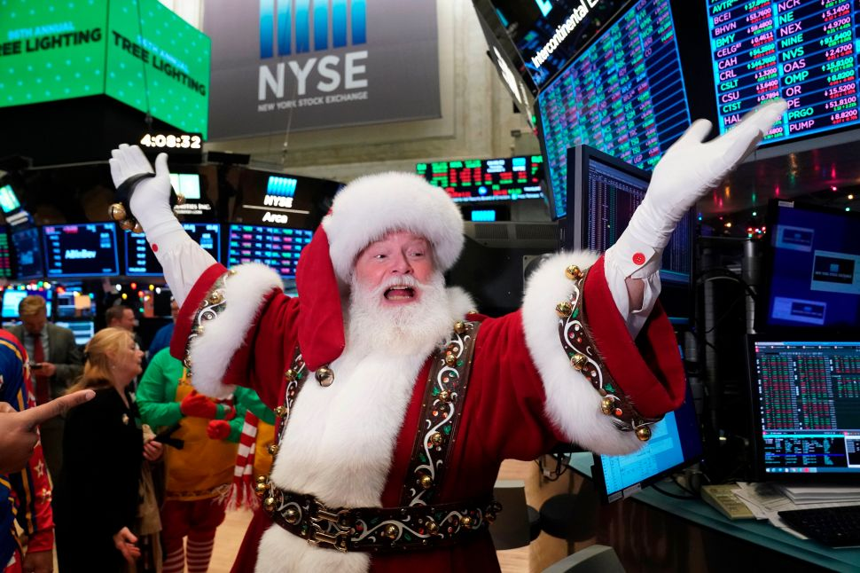 Can We Expect a Santa Rally, or Will a Grinch Steal Our GDP?