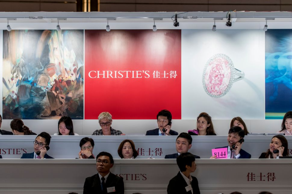 Christie's Isn't Worried Political Unrest Will Affect Its New Hong Kong Auction