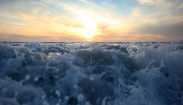 While the ocean serves an important role in mitigating climate change by absorbing CO2 from the atmosphere, there will come a point at which oceans can't absorb anymore.