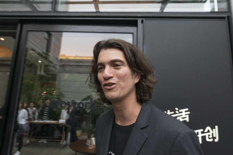 New WeWork Executive Chairman Defends Adam Neumann Bailout