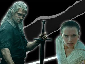 Star Wars The Rise of Skywalker Netflix The Witcher opening