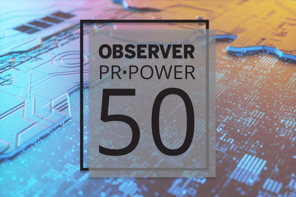 PR Power List Tech Honor Roll of 2019