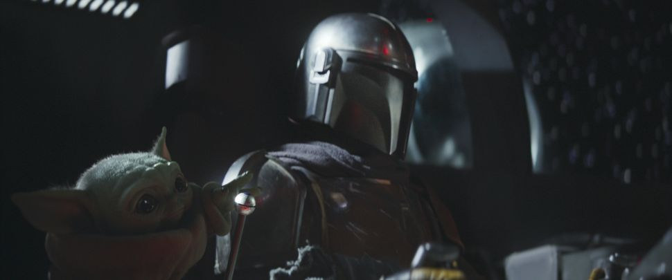 'The Mandalorian' Creator Opens Up About Baby Yoda and 'Star Wars' Crossovers