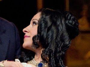 James Valenti and Angela Gheorghiu in 'La Traviata' at the Met.