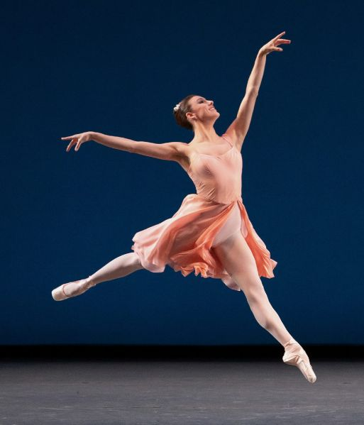 Tiler Peck in <em>Allegro Brillante</em> at City Ballet.