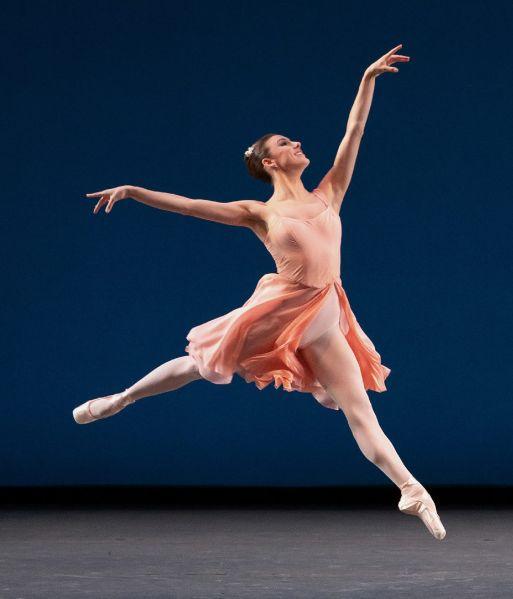 Tiler Peck in <em>Allegro Brillante</em> at City Ballet.