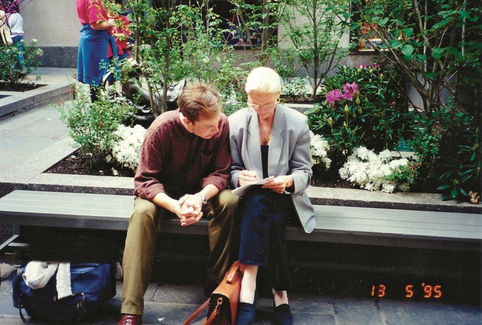 Elon Musk and Maye Musk in 1995.