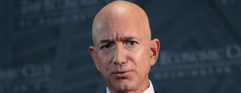Jeff Bezos, founder and CEO of Amazon.