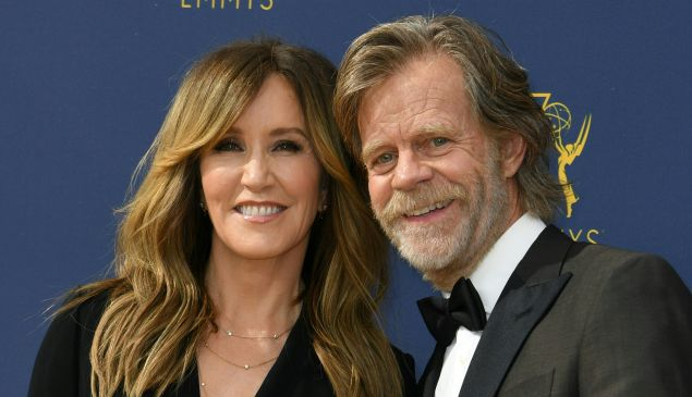 William H. Macy and Felicity Huffman
