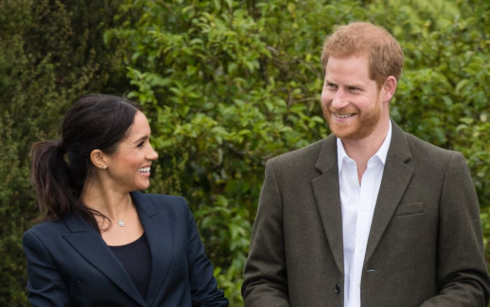 Prince Harry and Meghan Already Sent Moving Vans to Frogmore Cottage