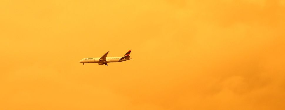 While the airline industry moves toward environmental stewardship, nearly 100 fires are still burning across Australia.