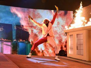 Tyler, The Creator sets the house ablaze