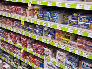 over-the-counter pain killers