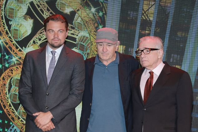 Oscars Leonardo DiCaprio Robert De Niro Martin Scorsese