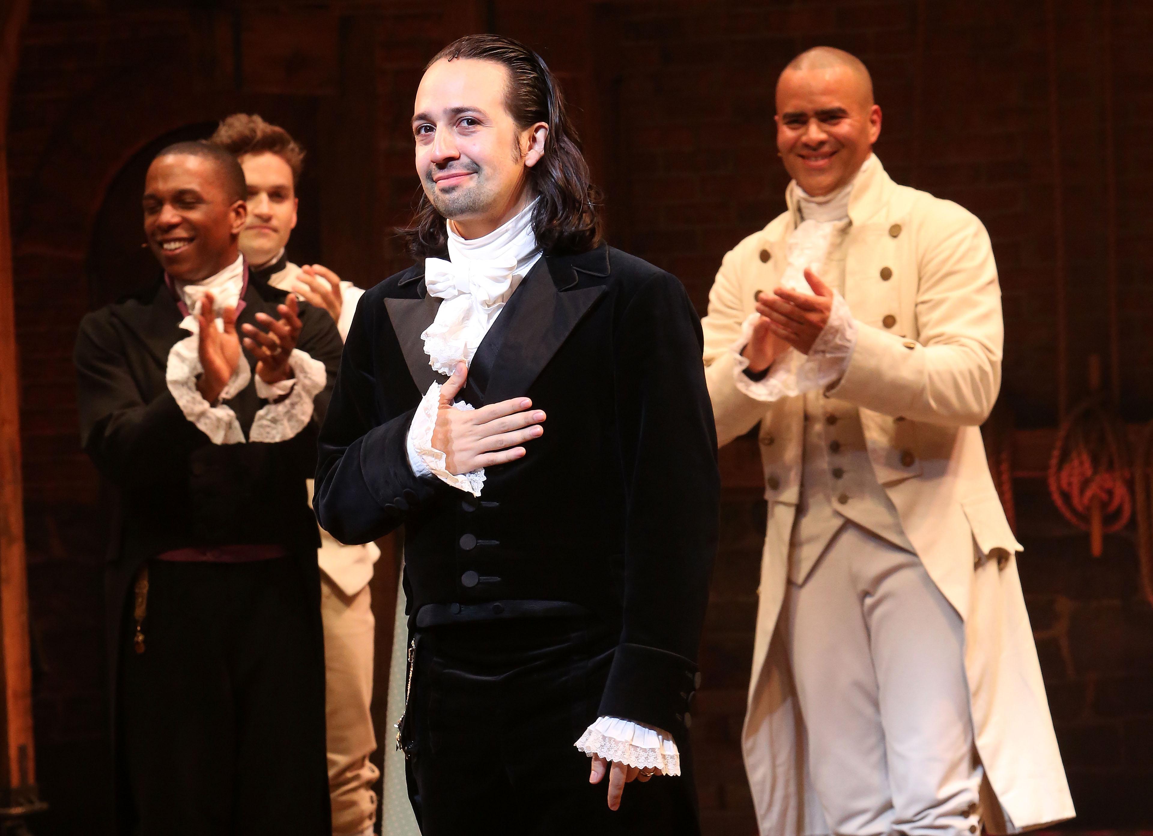 Lin-Manuel Miranda Has an Update on the 'Hamilton' Movie