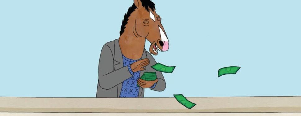 bojack horseman money