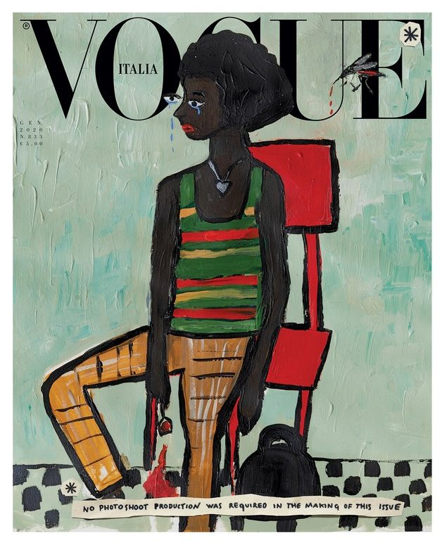 Italian Vogue's January Issue Argues Fashion Photography Is Bad for the Environment