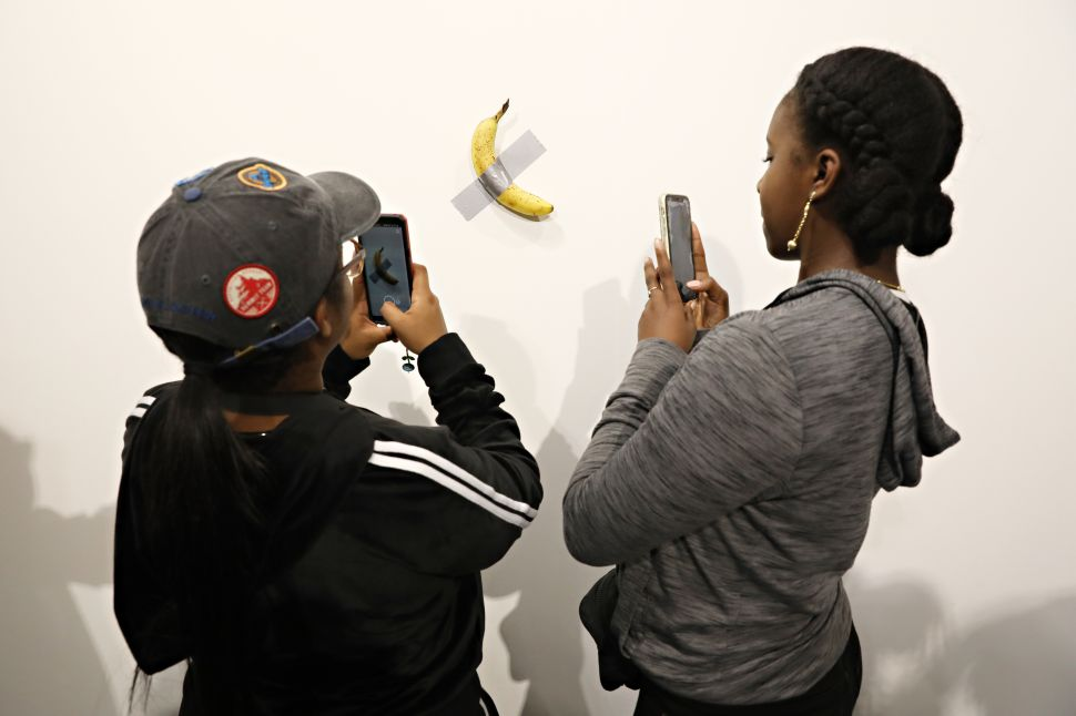 A Knockoff of Maurizio Cattelan's Art Basel Banana Is Now for Sale—At a Discount
