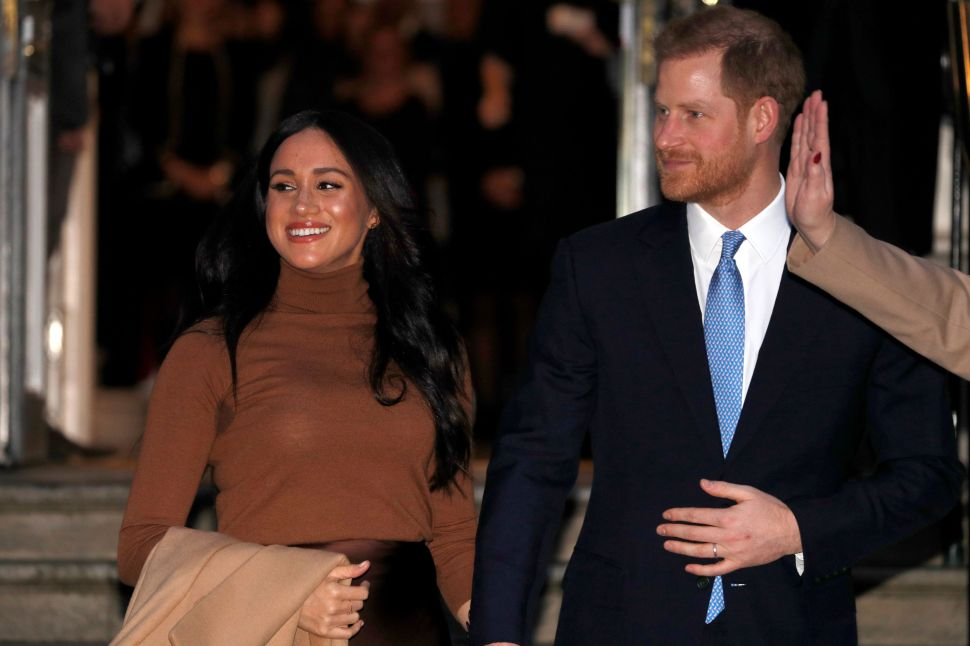 Prince Harry and Meghan Markle Are Finally Back in London After Their Royal Holiday Break