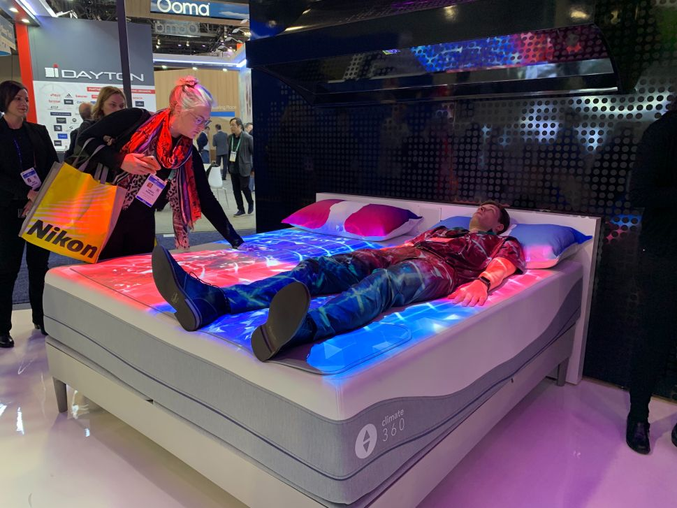 At CES 2020, Consumer Tech's New Frontier Is to Help You Fall Sleep