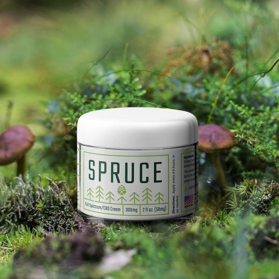 Spruce Topical CBD Cream