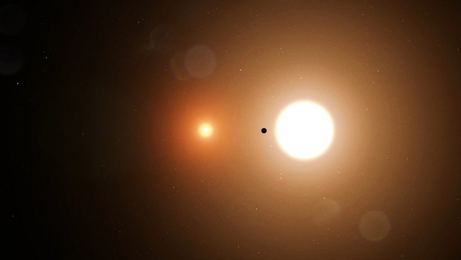 TOI 1338 b - a new planet with two stars discovered by NASA intern