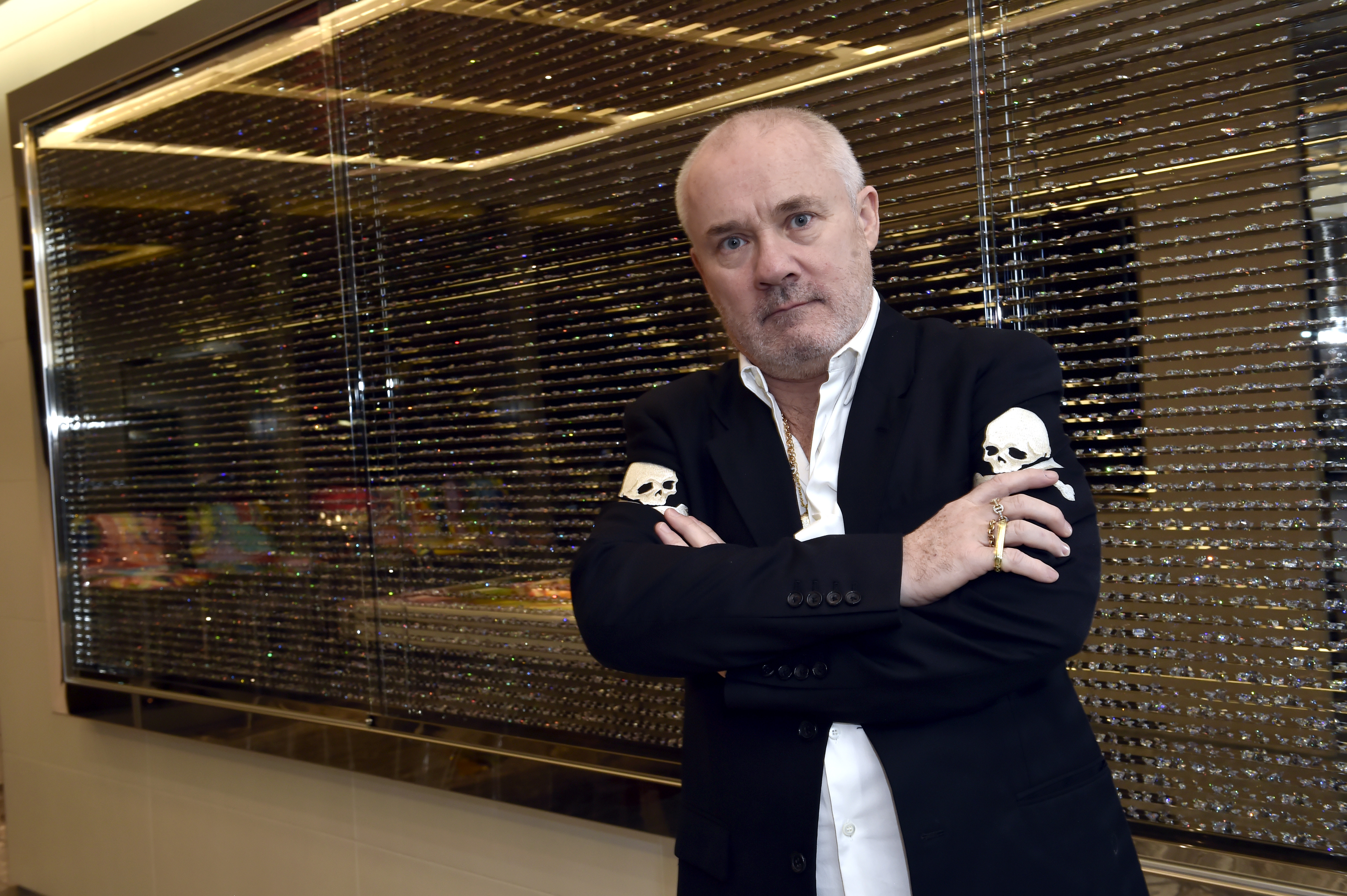 Damien Hirst Is Constructing a Chapel With a 'Huge Bronze Arm Pointing to God'