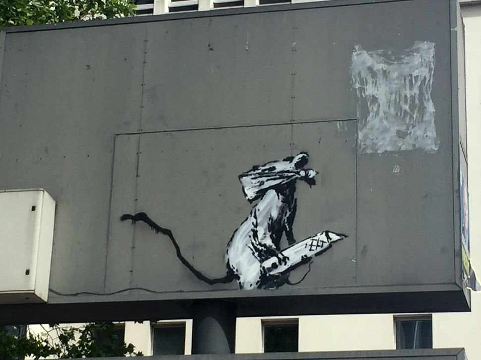 Banksy Theft Solved? Two Arrested in Paris for Pompidou Center Heist