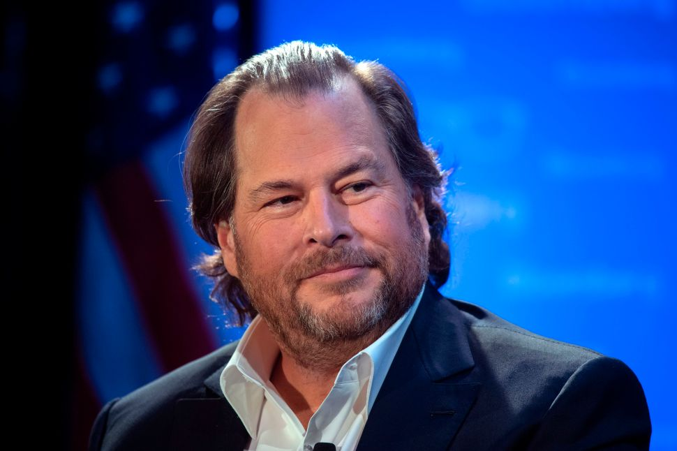 Salesforce's Marc Benioff Scraps Co-CEO System After Just 18 Months