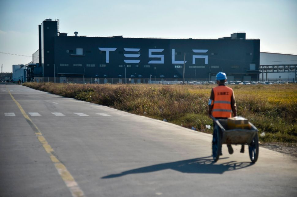 Some Tesla employees at the Shanghai Gigafactory returned to work on Monday, February 10, 2020, after an extended break due to the coronavirus outbreak.