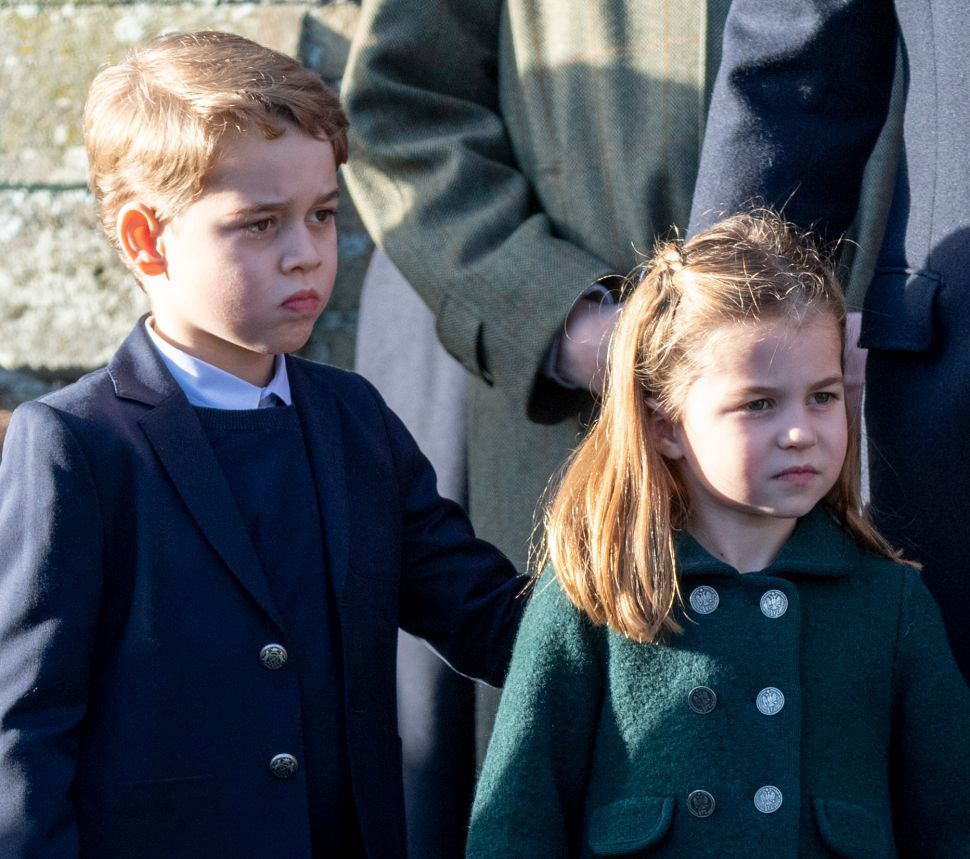 Prince George and Princess Charlotte Are Finally on Vacation for the Holidays