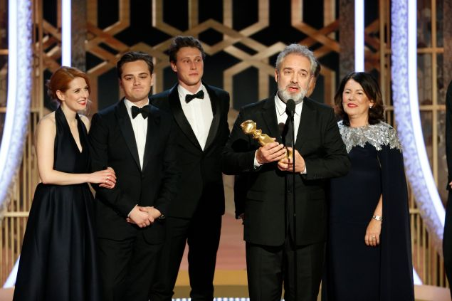 Sam Mendes took home two Golden Globes for 1917