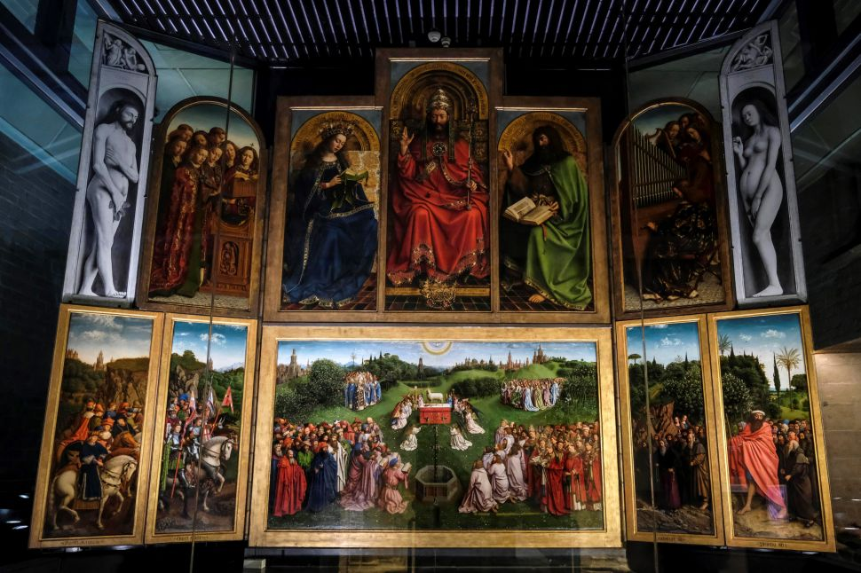 Hubert van Eyck Was Partially Responsible for Much of the Ghent Altarpiece