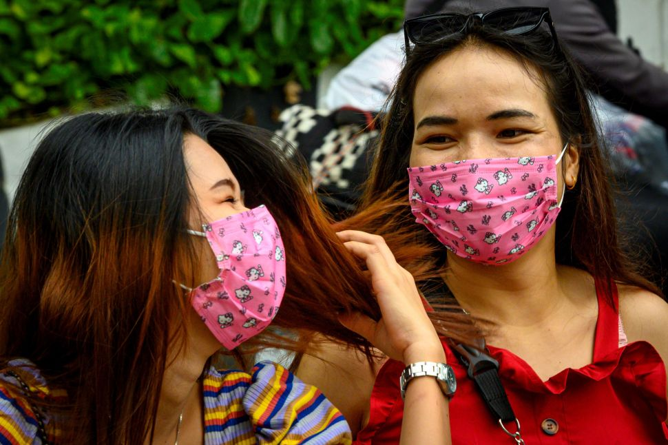 Fashionable Face Masks Are in the Spotlight as Coronavirus Crisis Grows