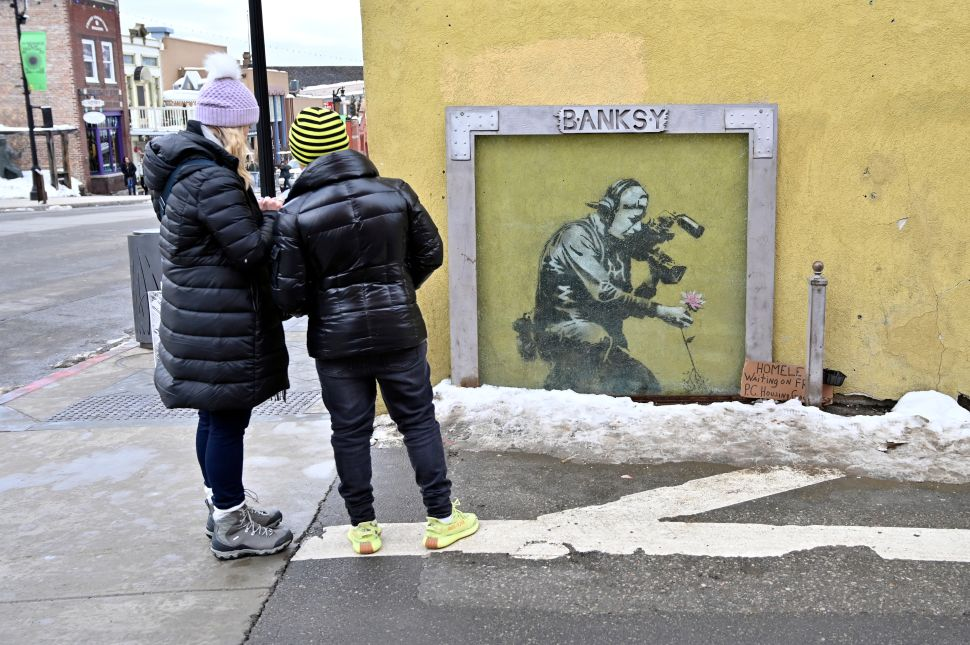 Banksy Is One of the Best Known Living Artists—Why Aren't Museums Buying?