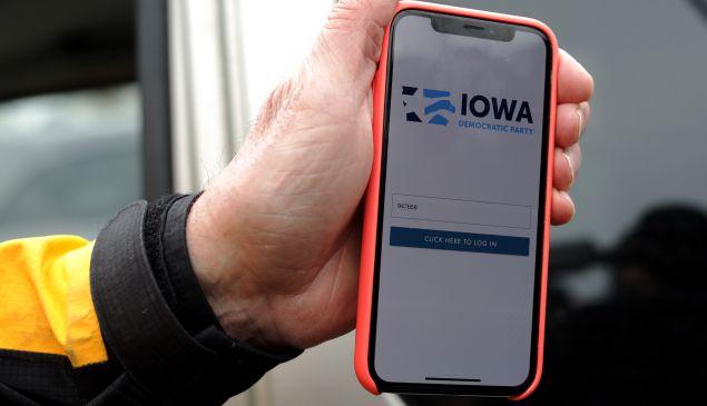 Iowa Caucus App