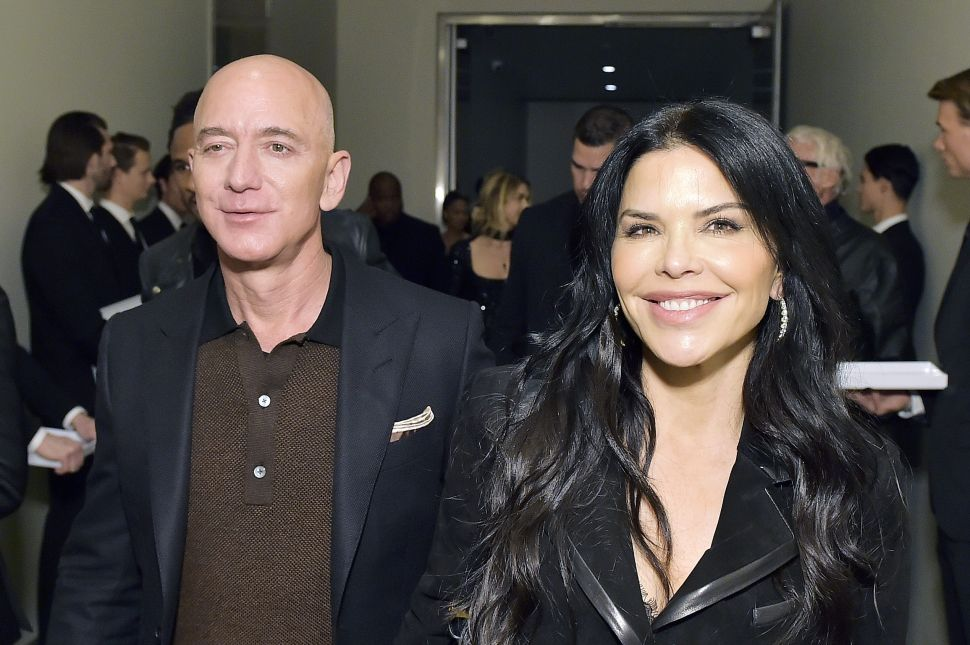 Jeff Bezos and girlfriend Lauren Sanchez