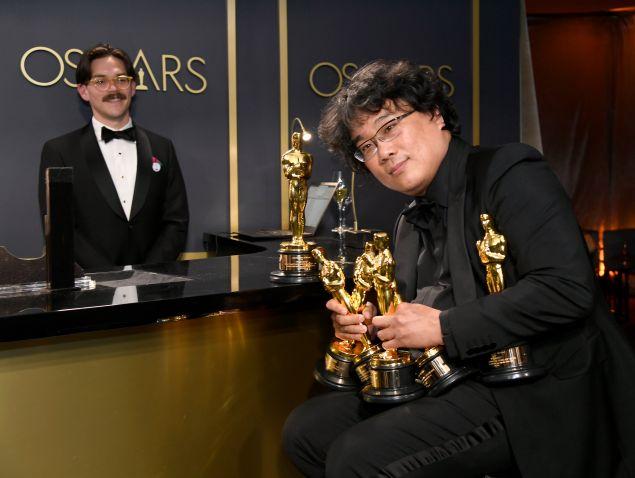 Bong Joon Ho Oscars 2020