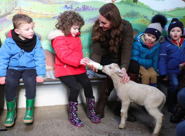 kate middleton lamb