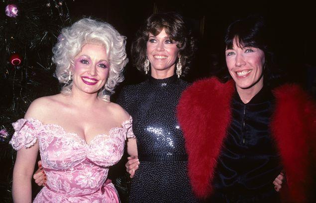 Dolly Parton, Jane Fonda and Lily Tomlin 9 to 5
