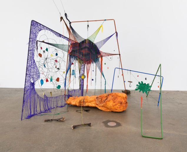 A work by Michelle Segre at Derek Eller Gallery.