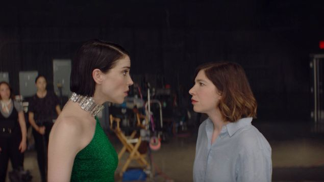 Annie Clark and Carrie Brownstein appear in The Nowhere Inn