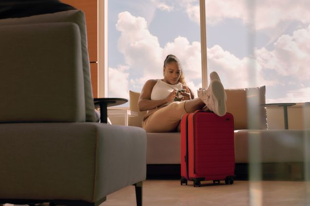Serena Williams x Away Luggage collection